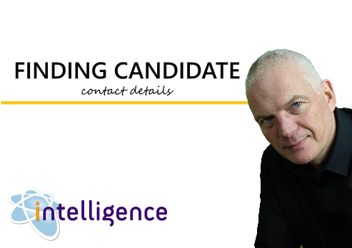 finding candidate contact details