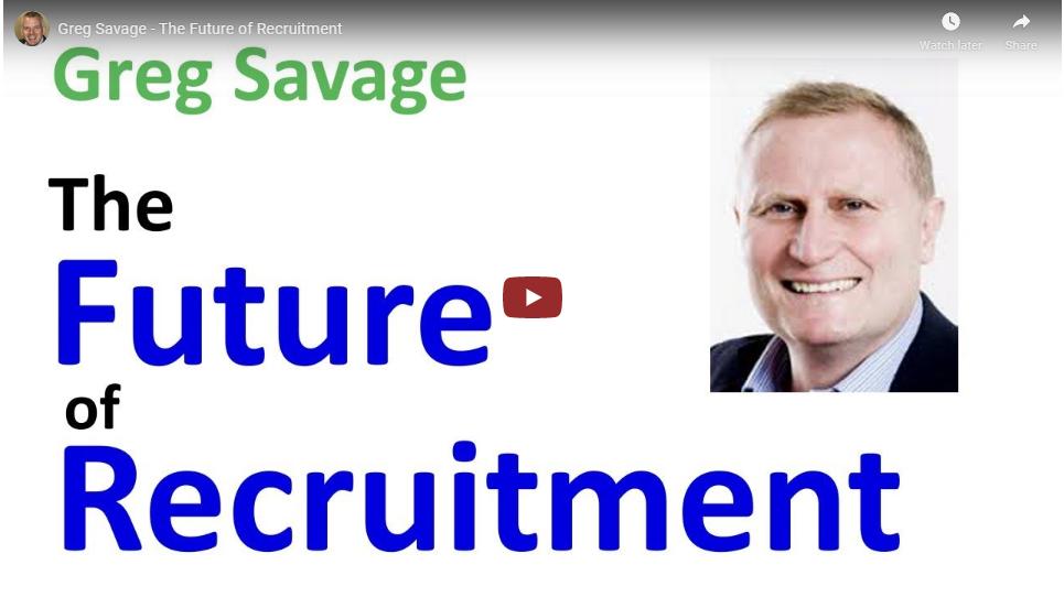 greg savage the future of recruitment