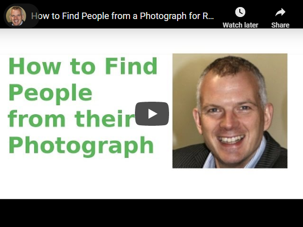 how to find people from their photograph