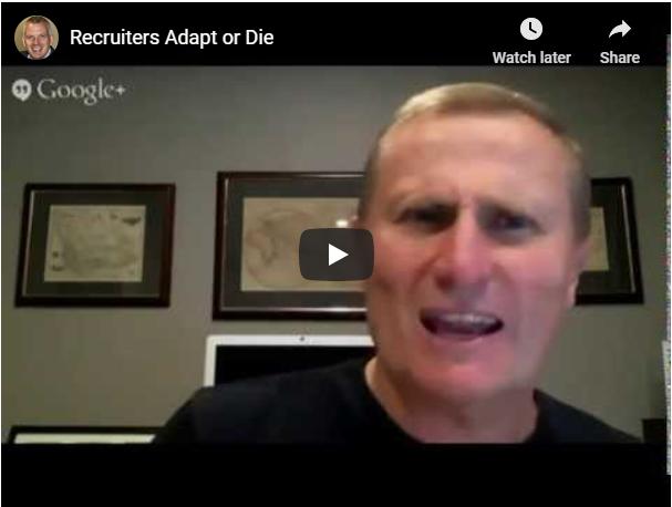 recruiters adapt or die