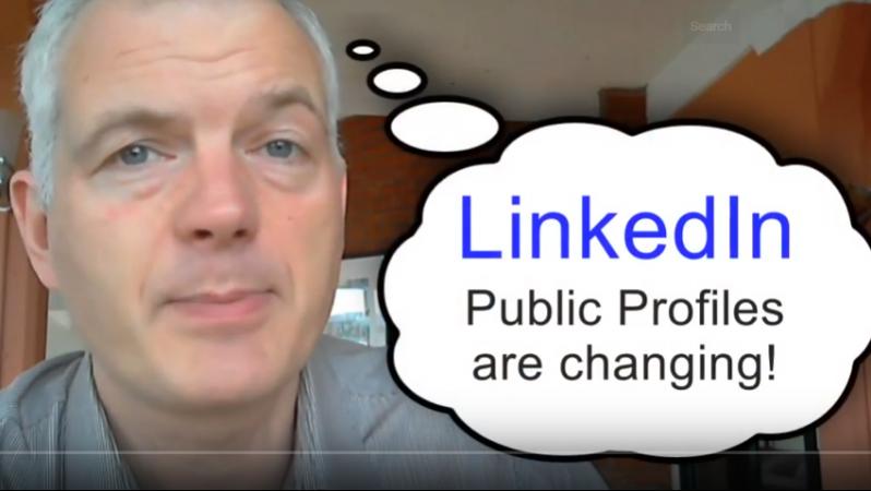 linkedin public profile